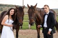 Andreia & Flavius si caii sedinta foto